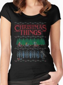 Christmas Things Women's Fitted Scoop T-Shirt