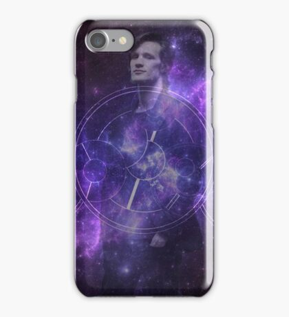 Eleventh Doctor Who Galaxy iPhone Case/Skin