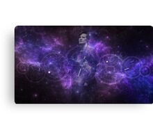 Eleventh Doctor Who Galaxy Canvas Print
