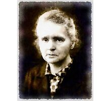 Marie Curie, Scientist Photographic Print