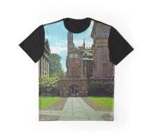 Inside Caius College, Cambridge Graphic T-Shirt