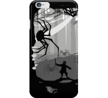 The Little Limbbit and the Spiders iPhone Case/Skin