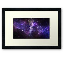 Twelfth Doctor Who Galaxy Framed Print