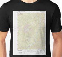 USGS TOPO Map California CA Tangle Blue Lake 20120305 TM geo Unisex T-Shirt