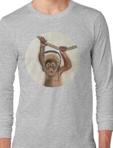 Monkey music Long Sleeve T-Shirt