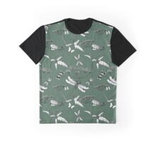 dragonflies - kale green Graphic T-Shirt