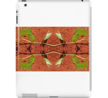 Beach morning glory compilation iPad Case/Skin