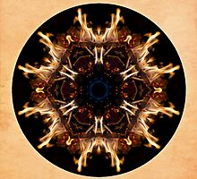 Spirit Rekindled Mandala by Gail S. Haile