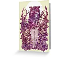 Above Head Greeting Card