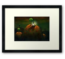 Happy campers Framed Print
