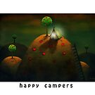 Happy campers by Amanda  Cass