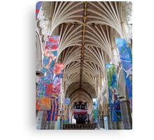 Living Faith ~ Exeter Cathedral Canvas Print