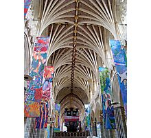 Living Faith ~ Exeter Cathedral Photographic Print