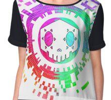 Skycode: Sombra (Skull Multicolor) Chiffon Top
