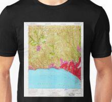 USGS TOPO Map California CA Topanga 300898 1952 24000 geo Unisex T-Shirt