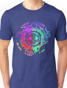 Skycode; Sombra (Digital Multicolor) Unisex T-Shirt