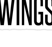 it's all about the wingspan Sticker