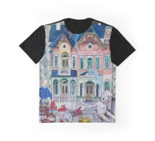 Dollhouse Ghosts Graphic T-Shirt