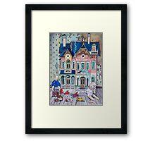 Dollhouse Ghosts Framed Print
