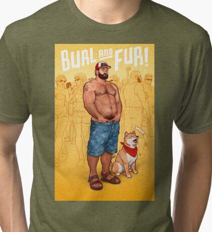 Squid Kid Tri-blend T-Shirt