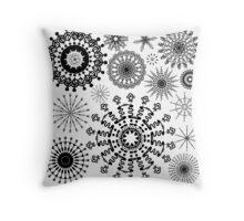 Doodle Star 10 Throw Pillow