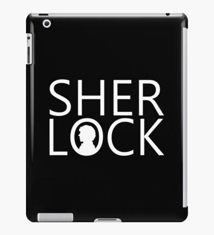 Sherlock - Benedict Cumberbatch (Black) iPad Case/Skin
