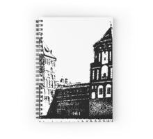 Minsk, Belarus, Europe. historic castle.  Spiral Notebook