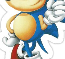 you be tails i'll be sonic Sticker