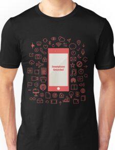Smartphone Grounded Unisex T-Shirt
