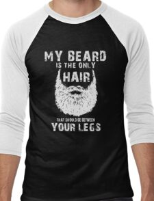 My Beard Hair T-shirt Men's Baseball ¾ T-Shirt