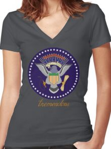 Tremendous Women's Fitted V-Neck T-Shirt
