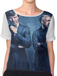 Sherlock and John Chiffon Top