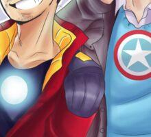 Avengers Academy Steve and Tony Sticker