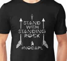 I Stand With Standing Rock- Nodapl Unisex T-Shirt