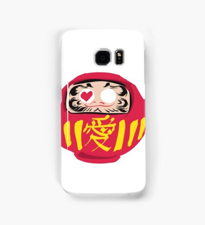 Love Daruma Samsung Galaxy Case/Skin