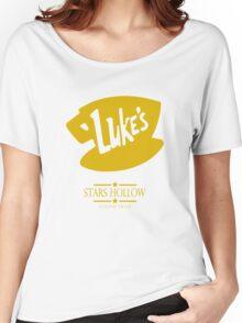 Gilmore Girls Luke's Diner Women Shirt Women's Relaxed Fit T-Shirt