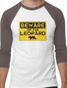 Beware of the Leopard Men's Baseball ¾ T-Shirt