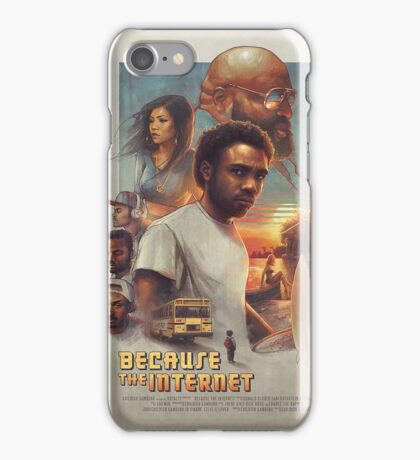 Because The Internet Movie Poster iPhone Case/Skin