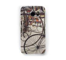 Antique Bicycles Samsung Galaxy Case/Skin