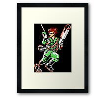 Bionic Commando T-shirt 1 Framed Print