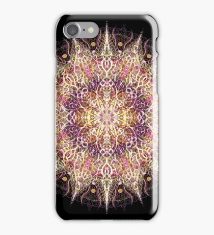 Warm Ornate Mandala iPhone Case/Skin