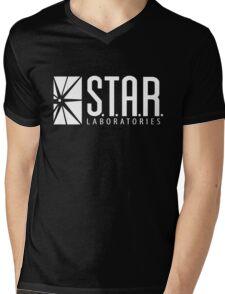 S.T.A.R. Laboratories Mens V-Neck T-Shirt