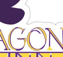 Dragonfly inn_1 Sticker