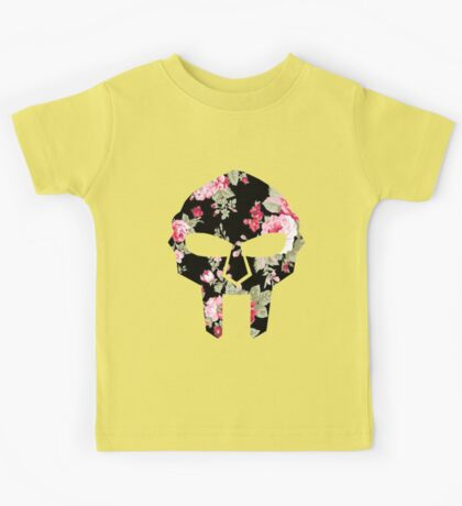 MF DOOM FLORAL MASK Kids Tee