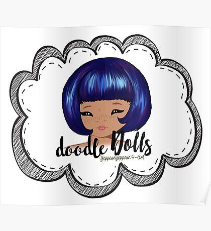 doodle Dolls - 003 (A) Poster