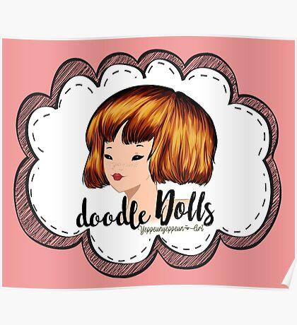 doodle Dolls - 001 (B) Poster