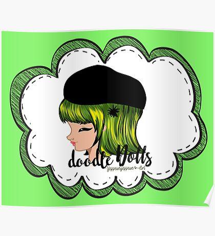 doodle Dolls - 002 (B) Poster