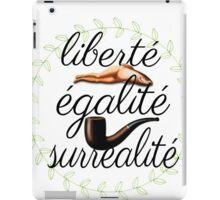 liberté, égalité, surréalité iPad Case/Skin