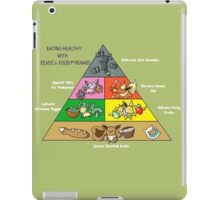 Healthy Eating With The Eeveelutions iPad Case/Skin