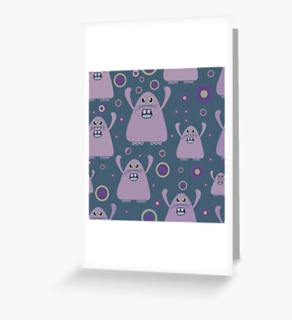 "Cool 'Emo"" Beans  - The Rabbit Renegade Greeting Card"